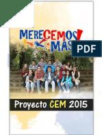 Proyecto MereCEMos Más 2015
