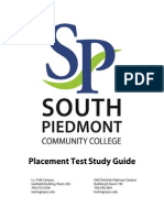 College Placement Test Study Guide