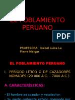 El Poblamiento Peruano