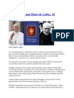 Pope Francis and Henri de Lubac