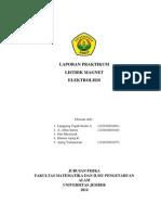 Laporan Praktikum Lm