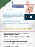 Manejo Del Pie Diabetico