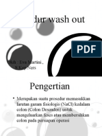 Prosedur Wash Out.. akper