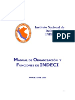 Defensa Civil Indeci. 2015