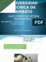 Caso Clinico Respiratorio
