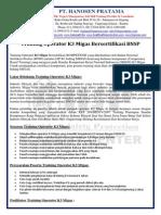 Operator K3 MIGAS Sertifikasi BNSP