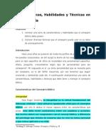 Clases de Consejeria Hasta El 6 Abril 2015