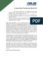 NOTA de PRENSA_Asus Transformer Book Chi