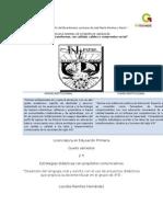 Proyecto Didáctico Lenguaje Oral y Escrito
