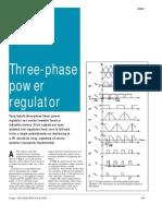 Threephase Power Regulator