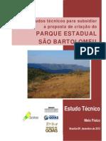 Estudos técnicos para subsidiar a proposta de criação do PARQUE ESTADUAL SÃO BARTOLOMEU