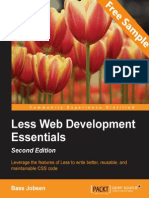 Less Web Development Essentials - Second Edition - Sample Chapter