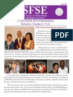 Philadelphia Chapter Newsletter 2015 May