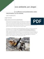 Minería y Poco Ambiente