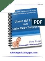 Claves del éxito en la Estimulación Temprana +1 Libro bebe