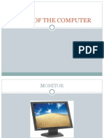 Preschool Activities -Parts of the Computer
