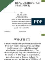 Theoretical Distribution Statistics)