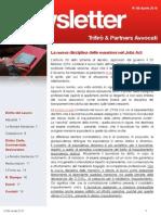 Newsletter T&P N° 89