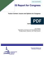 Fusion Centers - Intelligence