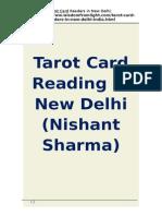 Tarot Card Reading in New Delhi  (Nishant Sharma)