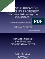 Indicaciones ICP en TCI