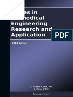 Issues In Biomedical Engineering Research And Application