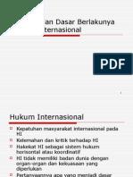 Hin Hakekat Dan Dasar Berlakunya Hukum Internasional