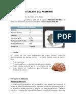 Jefersson Arguello -Procesos Del Aluminio