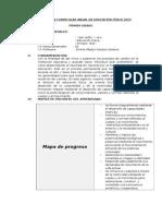 Programación Curricular Anual de Educación Física 2011-Primer Grado