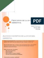 Principios de La Economia Ambiental