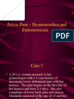 Pelvic Pain Dysmenorrhea and Endometriosis