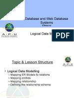 Topic4 LogicalDataModelling Aug14