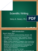 Scientific Writing_Aug 2014