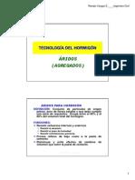 Aridos ingeniería civil