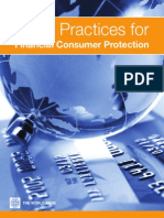 Good Practices for Financial CP