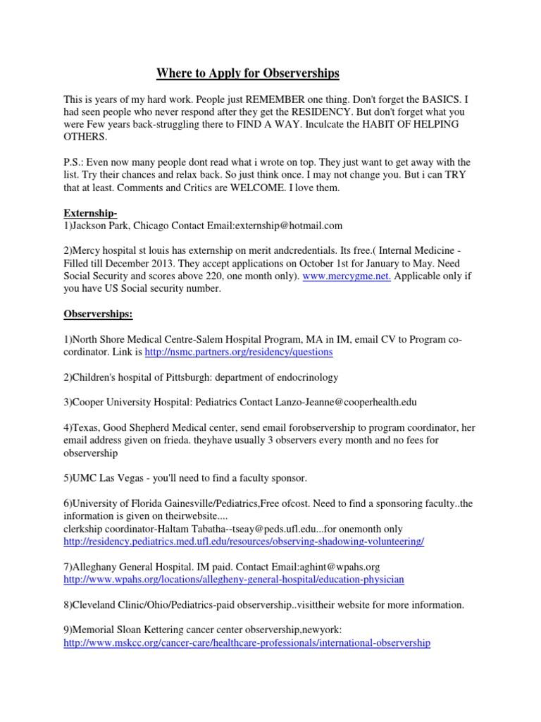 USCE-Observerships   Medical School (692 views)