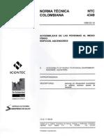 Norma NTC Ascensores