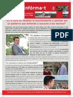 Boletín del PSOE de San Martín de la Vega Abril 2015