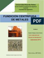 Fundicion Centrifuga de Metales
