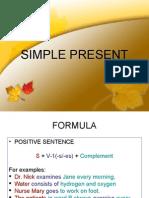Slide 4 - Simple Present & Present Progressive