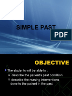 Slide 5 - Simple Past & Past Progressive