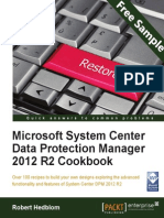 Microsoft System Center Data Protection Manager 2012 R2 Cookbook - Sample Chapter