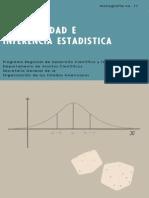 Probabilidad e inferencia estadística - Luis Santaló - 1970