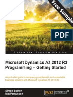 Microsoft Dynamics AX 2012 R3 Programming – Getting Started - Sample Chapter