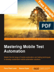 Mastering Mobile Test Automation - Sample Chapter