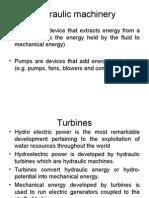 6.Hydraulic Machinery Turbines