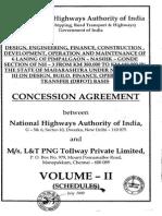 6 Laning of Pimpalgaon Nashik Gonde Vol. II