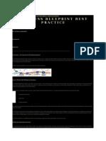 Business Blueprint Best Practice