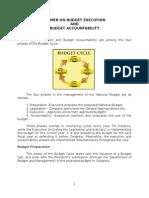 Primer on Budget Execution