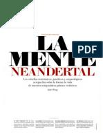 150430 Investigación y Ciencia- La Mente Neandertal